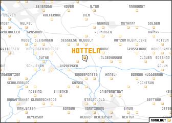 map of Hotteln