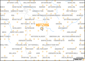 map of Hötzing