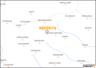 map of Houshiyu