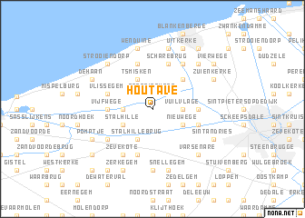 map of Houtave
