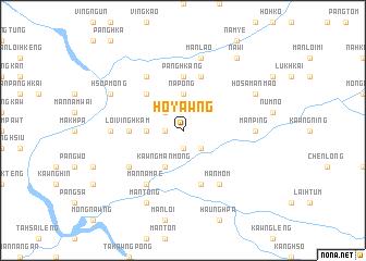 map of Ho-yawng
