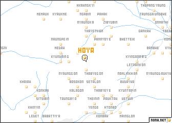 map of Ho-ya