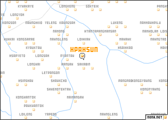map of Hpa-hsun