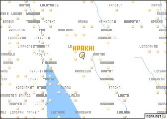 map of Hpa-khi
