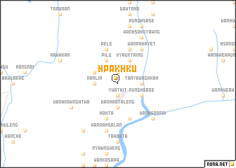 map of Hpak-hku