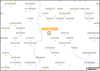 map of Hpaknam