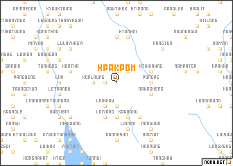 map of Hpakpom