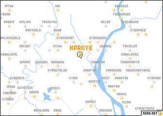 map of Hpakye