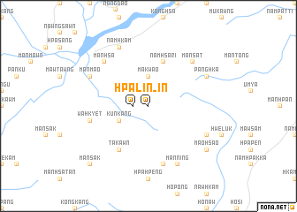 map of Hpa-lin