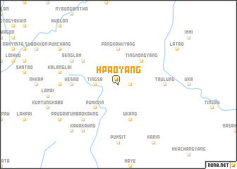 map of Hpaoyang