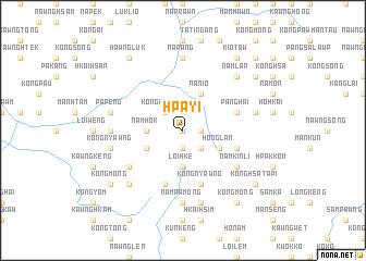 map of Hpa-yi