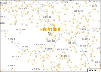 map of Hrustovo