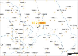 map of Hsaihkao