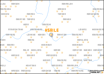 map of Hsai-le