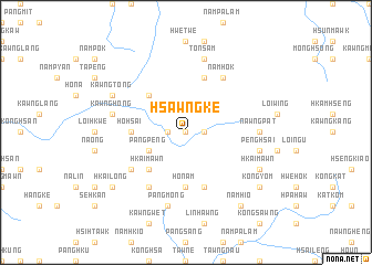 map of Hsawngke