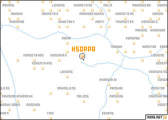 map of Hsoppa