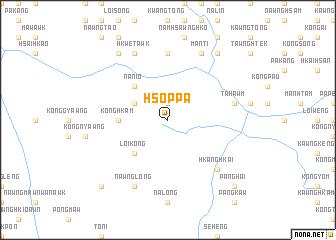 map of Hsoppa