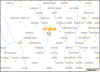 map of Htibwa