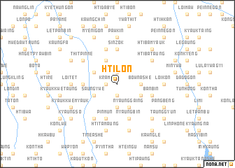 map of Htilon