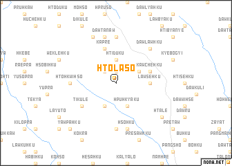 map of Htö-la-so