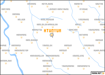 map of Htunyum