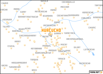 map of Huacucho