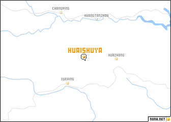 map of Huaishuya