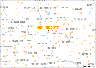 map of Huamaccaya