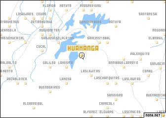 map of Huamanga