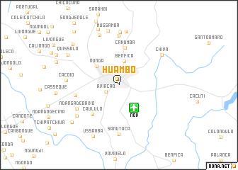 Huambo Angola map nonanet