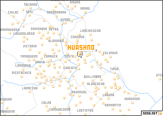 map of Huashno