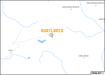 map of Huaylarco