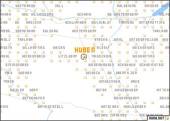 map of Huben