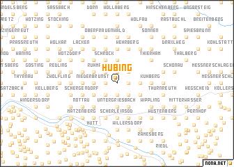 map of Hubing
