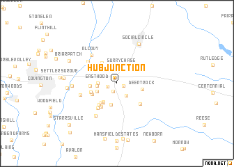 map of Hub Junction