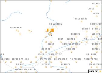 map of Hub