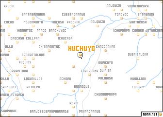 map of Huchuyo
