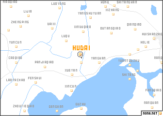 map of Hudai