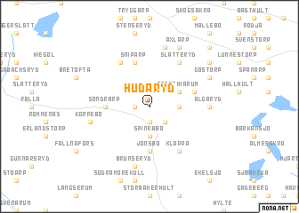 map of Hudaryd