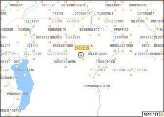 map of Hueb