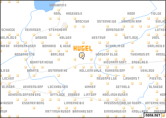 map of Hügel