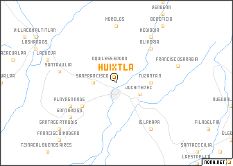 Huixtla (Mexico) map   nona.net