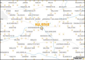 map of Hulanka