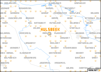 map of Hulsbeek