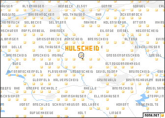 map of Hülscheid