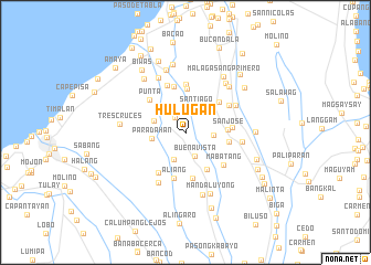 map of Hulugan