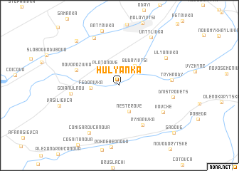 map of Hulyanka