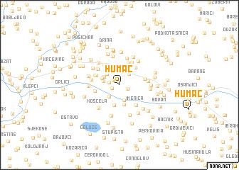 map of Humac