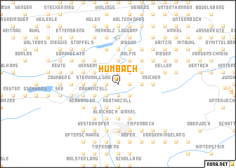 map of Humbach