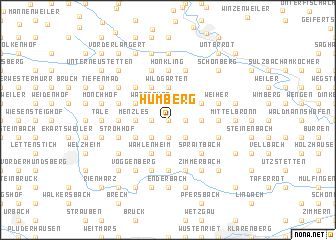 map of Humberg